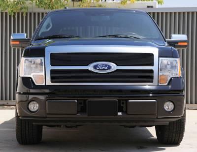 T-Rex - Ford F150 T-Rex Billet Grille - All Black - 2PC - 20567B