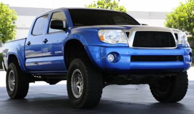 T-Rex - Toyota Tacoma T-Rex Billet Grille Insert - 20 Bars - All Black - 20895B