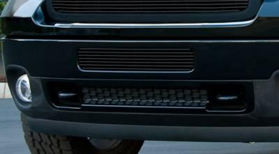 T-Rex - GMC Sierra T-Rex Bumper Billet Grille - All Black - 25209B