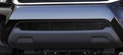 T-Rex - Toyota Tacoma T-Rex Bumper Billet Grille Insert - All Black - 25938B