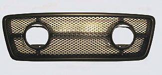 Street Scene - Ford F150 Street Scene Grille Shell Surround with Light Kit - Black Powdercoat - 950-74585