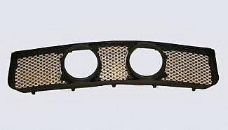 Street Scene - Ford Mustang Street Scene Center Light Mount Shell Black Powdercoat Grille - 950-74592