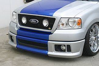 Street Scene - Ford F150 Street Scene Black Powdercoat Grille Generation 2 Bumper Cover - 950-74838