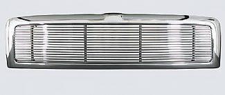 Street Scene - Dodge Ram Street Scene Custom Chrome Grille Shell with 4mm Polished Billet - 950-75518