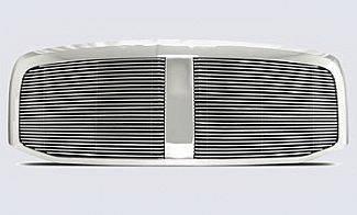 Street Scene - Dodge Ram Street Scene Custom Chrome Grille Shell with 4mm Billet Grille - 950-75519