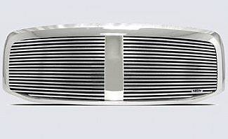Street Scene - Dodge Ram Street Scene Custom Chrome Grille Shell with 8mm Billet Grille - 950-75520