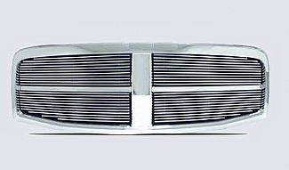 Street Scene - Dodge Durango Street Scene Chrome Grille Shell with Polished 4mm Billet Grille - 950-75521