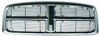 Street Scene - Dodge Ram Street Scene Chrome Grille Shell with Polished 4mm Billet Grille - 950-75531