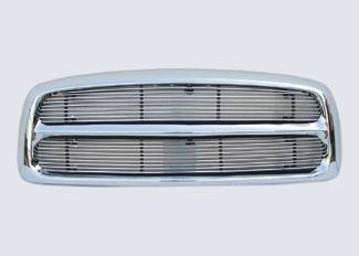 Street Scene - Dodge Ram Street Scene Chrome Grille Shell with 2 Piece 4mm Billet Grille - 950-75532