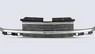 Street Scene - Chevrolet S10 Street Scene Chrome Framless Shell with 4mm Billet Grille - 950-75542