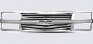 Street Scene - Chevrolet Tahoe Street Scene Chrome Grille Shell with 4mm Billet Grille - 950-75545