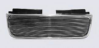 Street Scene - GMC Sonoma Street Scene Chrome Grille Shell with 4mm Polished Billet Grille - 950-75547