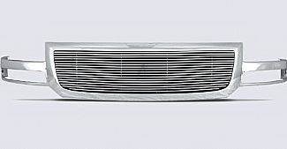 Street Scene - GMC Sierra Street Scene Chrome Grillehell with 4mm Polished Billet Grille - 950-75567
