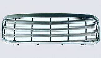 Street Scene - Ford Superduty Street Scene Chrome Grille Shell with 4mm Billet Grille - 950-75573