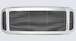 Street Scene - Ford Superduty Street Scene Chrome 3 Opening Shell with 4mm Billet Grille - 950-75574