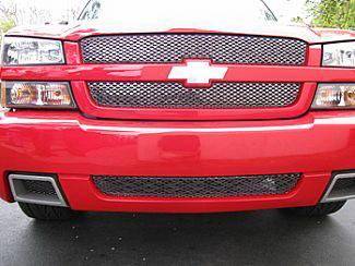 Street Scene - Chevrolet Silverado Street Scene Main Grille - 950-76141
