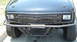 Street Scene - Chevrolet S10 Street Scene Main Grille with Rectangular Headlight Grille - 950-76210