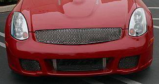 Street Scene - Infiniti G35 2DR Street Scene Lower Valance Bumper Grille - 950-76336