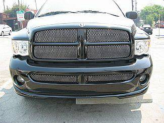 Street Scene - Dodge Ram Street Scene Black Chrome Grille for 950-70505 Bumper Cover - 950-76509