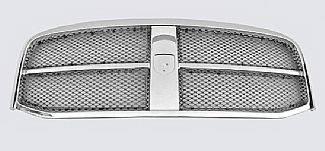 Street Scene - Dodge Ram Street Scene Chrome Grille Shell with Black Chrome Speed Grille - 950-76522