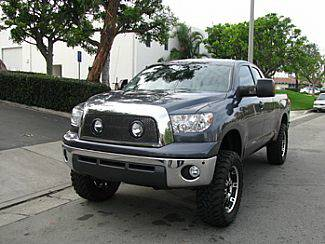 Street Scene - Toyota Tundra Street Scene Grille Shell with Lights Package - Black Chrome - 950-76570