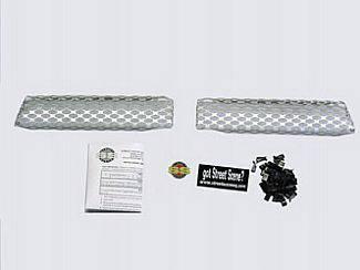 Street Scene - Chevrolet S10 Street Scene Satin Aluminum Grille for Generation 1 Bumper Cover - 950-77123