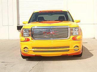 Street Scene - GMC Sierra Street Scene Satin Aluminum Grille for Generation 1 Bumper Cover - 950-77196