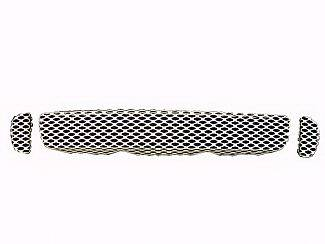 Street Scene - Isuzu I-370 Street Scene Satin Aluminum Grille for Generation 1 Bumper Cover - 950-77243