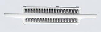 Street Scene - Chevrolet Tahoe Street Scene Paintable Custom Grille Shell with Satin Aluminum Grille - 950-77550