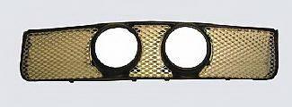 Street Scene - Ford Mustang Street Scene Center Light Mount Shell Satin Aluminum Grille - 950-77590