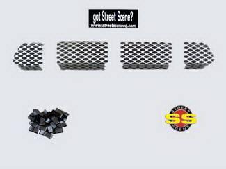 Street Scene - Ford F150 Street Scene Lower Valance Bumper Grille - 950-77708
