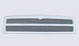 Street Scene - Dodge Ram Street Scene Paintable Custom Grille Shell with Chrome Speed Grille - 950-78515