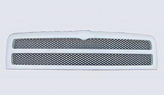 Street Scene - Dodge Ram Street Scene Paintable Custom Grille Shell with Chrome Speed Grille - 950-78515
