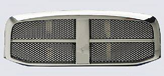 Street Scene - Dodge Ram Street Scene Chrome Grille Shell with Chrome Speed Grille - 950-78522