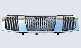 Street Scene - Nissan Titan Street Scene Chrome Grille Shell with Chrome Speed Grille - 950-78526