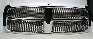Street Scene - Dodge Ram Street Scene Chrome Grille Shell with Chrome Speed Grille - 950-78531