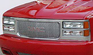 Street Scene - GMC Yukon Street Scene Chrome Grille Shell with Chrome Speed Grille - 950-78543