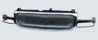 Street Scene - GMC Yukon Street Scene Chrome Grille Shell with Chrome Speed Grille - 950-78566