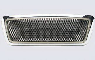 Street Scene - Ford F150 Street Scene Chrome Grille Shell with Chrome Speed Grille - 950-78575