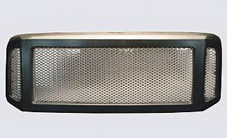 Street Scene - Ford Superduty Street Scene Paintable Custom Shell with Chrome Speed Grille - 950-78580