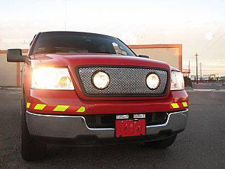 Street Scene - Ford F150 Street Scene Grille Shell Surround with Light Kit - Chrome - 950-78585