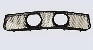 Street Scene - Ford Mustang Street Scene Center Light Mount Shell Model Chrome Grille - 950-78592