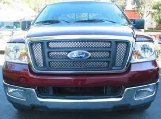 Street Scene - Ford F150 Street Scene Main Grille with 6 Piece Opening Grille Shell - 950-78775