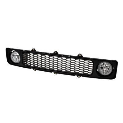Spyder Auto - Scion tC Spyder Grille with Fog Lights - Clear - FL-G-STC05-C