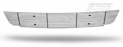 Stack Racing - Ford Mustang Stack Racing Billet Lower Grille - GRL-10-GT500-LOW-BLK