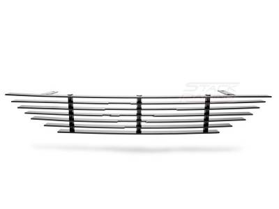 Stack Racing - Ford Mustang Stack Racing Billet Upper Grille - GRL-94-UPC-BLK
