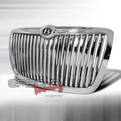 Spec-D - Chrysler 300 Spec-D Vertical Grille - Chrome - HG-300C05CVT