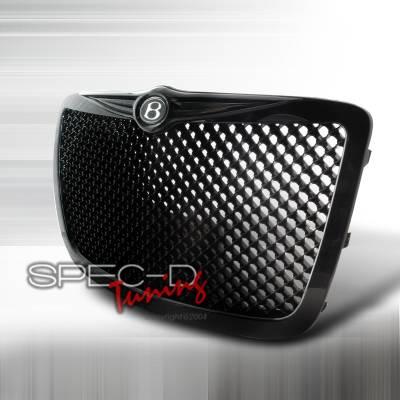 Spec-D - Chrysler 300 Spec-D Mesh Grille - Black - HG-300C05JM