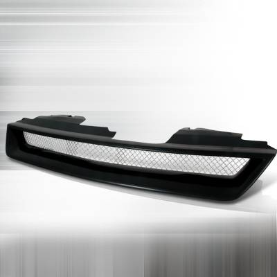 Spec-D - Honda Accord Spec-D Type R Style Front Hood Grille - Black - HG-ACD94TR