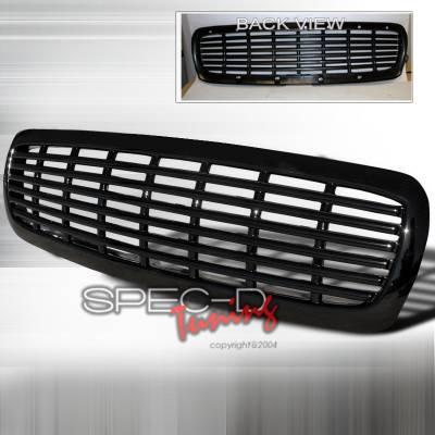 Spec-D - Dodge Durango Spec-D Front Grille - Black - HG-DAK97JM-JY